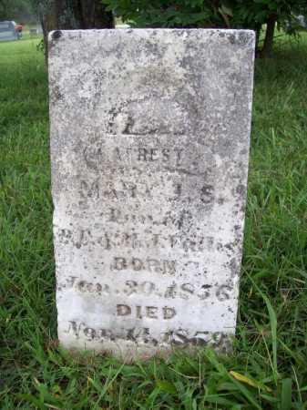 CALLIS, MARY J. S. - Benton County, Arkansas | MARY J. S. CALLIS - Arkansas Gravestone Photos