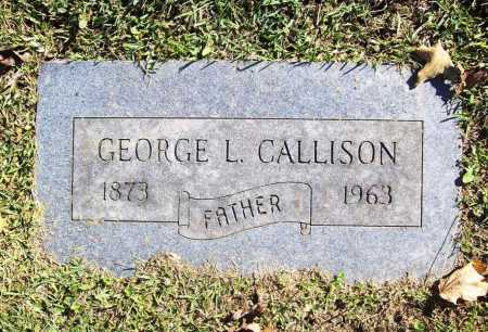 CALLISON, GEORGE L. - Benton County, Arkansas | GEORGE L. CALLISON - Arkansas Gravestone Photos