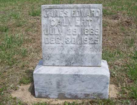 CALVERT, JAMES EDWARD - Benton County, Arkansas | JAMES EDWARD CALVERT - Arkansas Gravestone Photos