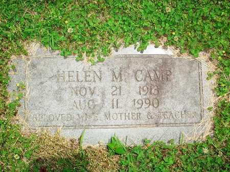 CAMP, HELEN M. - Benton County, Arkansas   HELEN M. CAMP - Arkansas Gravestone Photos