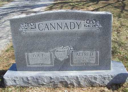 CANNADY, IVA FRANCES - Benton County, Arkansas | IVA FRANCES CANNADY - Arkansas Gravestone Photos