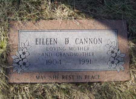 CANNON, EILEEN D. - Benton County, Arkansas | EILEEN D. CANNON - Arkansas Gravestone Photos