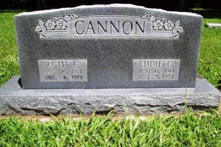 CANNON, RUTH E. - Benton County, Arkansas | RUTH E. CANNON - Arkansas Gravestone Photos