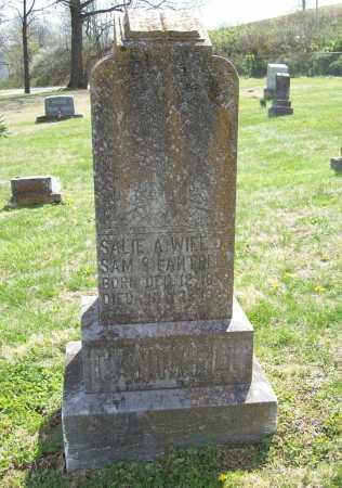 CANTRELL, SALIE A. - Benton County, Arkansas   SALIE A. CANTRELL - Arkansas Gravestone Photos