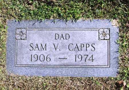CAPPS, SAM V. - Benton County, Arkansas | SAM V. CAPPS - Arkansas Gravestone Photos