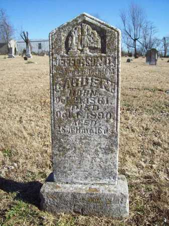 CARDEN, JEFFERSON D. - Benton County, Arkansas   JEFFERSON D. CARDEN - Arkansas Gravestone Photos