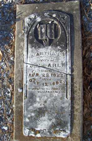 CARL, MARTHA E. - Benton County, Arkansas | MARTHA E. CARL - Arkansas Gravestone Photos
