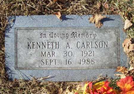CARLSON, KENNETH A - Benton County, Arkansas   KENNETH A CARLSON - Arkansas Gravestone Photos