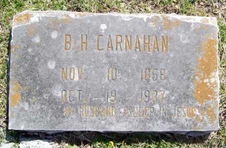 CARNAHAN, B. H. - Benton County, Arkansas | B. H. CARNAHAN - Arkansas Gravestone Photos