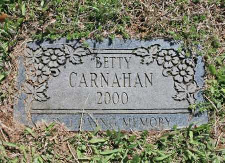 HARTLEY CARNAHAN, BETTY - Benton County, Arkansas | BETTY HARTLEY CARNAHAN - Arkansas Gravestone Photos