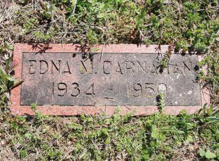 CARNAHAN, EDNA M. - Benton County, Arkansas   EDNA M. CARNAHAN - Arkansas Gravestone Photos