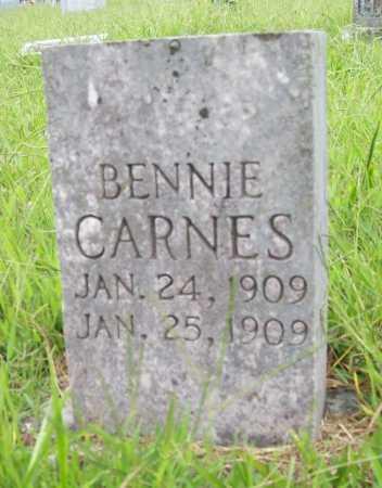 CARNES, BENNIE - Benton County, Arkansas | BENNIE CARNES - Arkansas Gravestone Photos