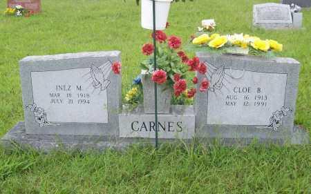 CARNES, INEZ M. - Benton County, Arkansas | INEZ M. CARNES - Arkansas Gravestone Photos