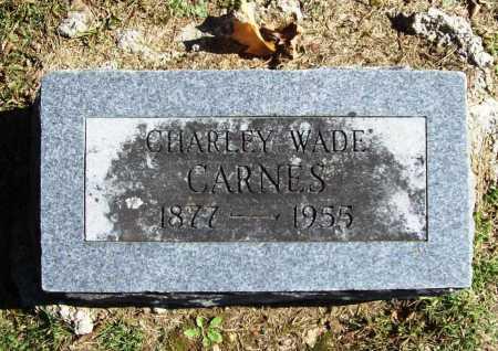CARNES, CHARLEY WADE - Benton County, Arkansas | CHARLEY WADE CARNES - Arkansas Gravestone Photos