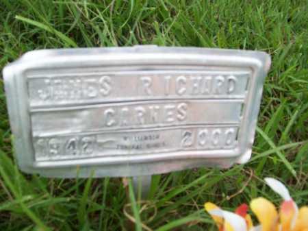 CARNES, JAMES RICHARD - Benton County, Arkansas | JAMES RICHARD CARNES - Arkansas Gravestone Photos
