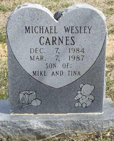 CARNES, MICHAEL WESLEY - Benton County, Arkansas   MICHAEL WESLEY CARNES - Arkansas Gravestone Photos