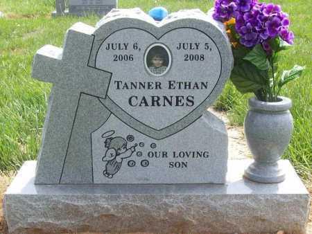 CARNES, TANNER ETHAN - Benton County, Arkansas | TANNER ETHAN CARNES - Arkansas Gravestone Photos