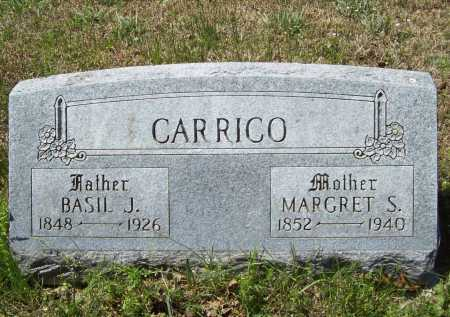 CARRICO, BASIL J. - Benton County, Arkansas | BASIL J. CARRICO - Arkansas Gravestone Photos