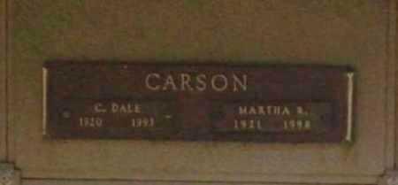 CARSON, MARTHA R. - Benton County, Arkansas | MARTHA R. CARSON - Arkansas Gravestone Photos