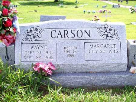 CARSON, WAYNE - Benton County, Arkansas   WAYNE CARSON - Arkansas Gravestone Photos