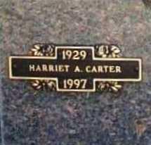 CARTER, HARRIET A. - Benton County, Arkansas | HARRIET A. CARTER - Arkansas Gravestone Photos