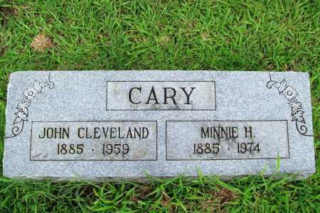 CARY, MINNIE H. - Benton County, Arkansas   MINNIE H. CARY - Arkansas Gravestone Photos