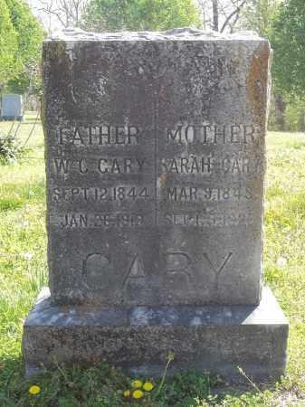 CARY, W C - Benton County, Arkansas | W C CARY - Arkansas Gravestone Photos