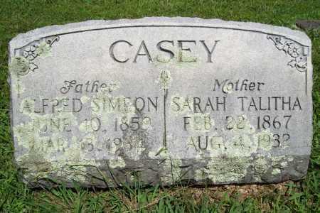 CASEY, ALFRED SIMEON - Benton County, Arkansas   ALFRED SIMEON CASEY - Arkansas Gravestone Photos