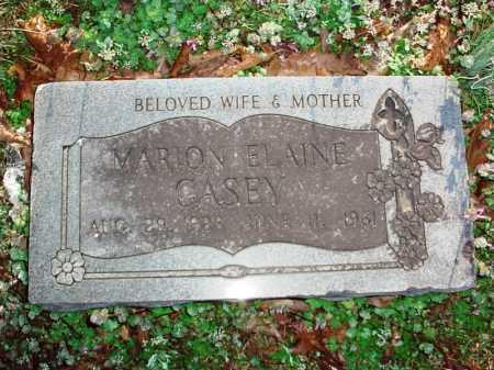 CASEY, MARION ELAINE - Benton County, Arkansas   MARION ELAINE CASEY - Arkansas Gravestone Photos