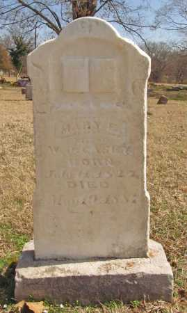 CASEY, MARY E. - Benton County, Arkansas | MARY E. CASEY - Arkansas Gravestone Photos