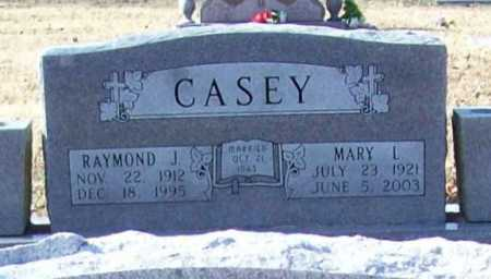 CASEY, MARY L. - Benton County, Arkansas | MARY L. CASEY - Arkansas Gravestone Photos