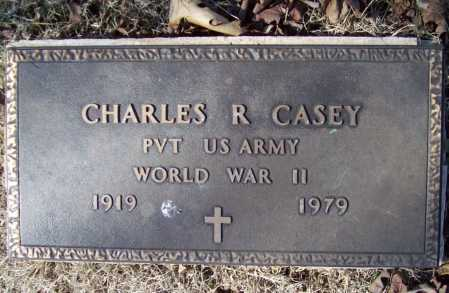 CASEY (VETERAN WWII), CHARLES ROBERT SR - Benton County, Arkansas   CHARLES ROBERT SR CASEY (VETERAN WWII) - Arkansas Gravestone Photos