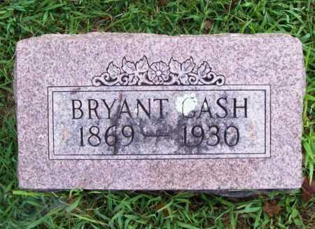 CASH, BRYANT MARVIN - Benton County, Arkansas | BRYANT MARVIN CASH - Arkansas Gravestone Photos