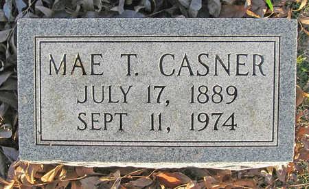CASNER, MAE T - Benton County, Arkansas   MAE T CASNER - Arkansas Gravestone Photos