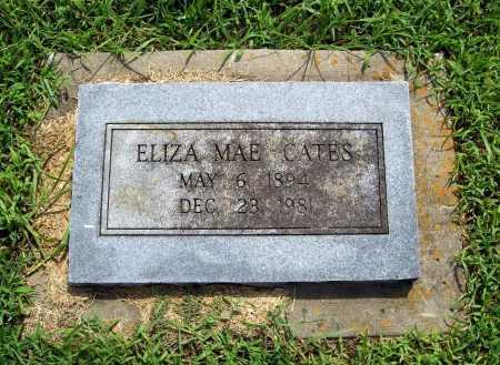 CATES, ELIZA MAE - Benton County, Arkansas | ELIZA MAE CATES - Arkansas Gravestone Photos