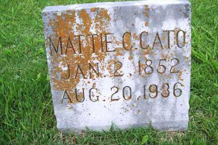 CATO, MATTIE C. - Benton County, Arkansas | MATTIE C. CATO - Arkansas Gravestone Photos