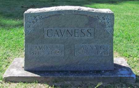 ALFREY CAVNESS, ANNA GERTRUDE - Benton County, Arkansas | ANNA GERTRUDE ALFREY CAVNESS - Arkansas Gravestone Photos