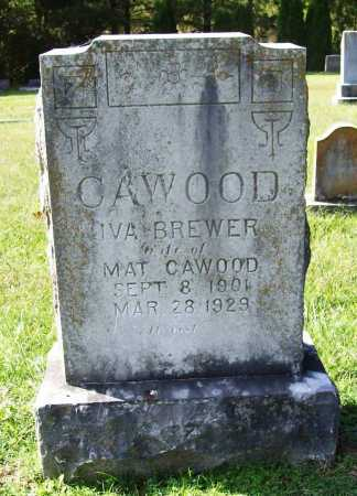 BREWER CAWOOD, IVA - Benton County, Arkansas | IVA BREWER CAWOOD - Arkansas Gravestone Photos