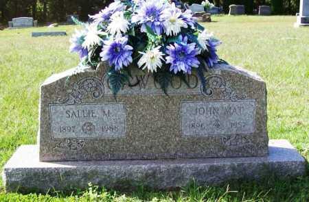 CAWOOD, SALLIE M. - Benton County, Arkansas | SALLIE M. CAWOOD - Arkansas Gravestone Photos