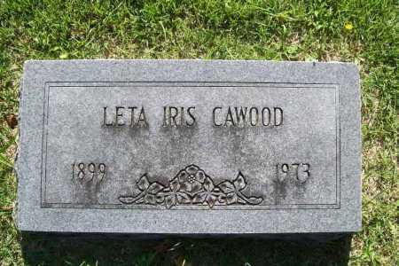 CAWOOD, LETA IRIS - Benton County, Arkansas | LETA IRIS CAWOOD - Arkansas Gravestone Photos