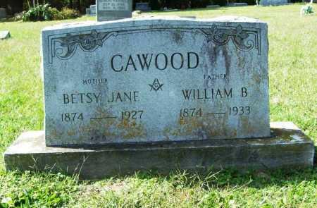 CROUSE CAWOOD, BETSY JANE - Benton County, Arkansas | BETSY JANE CROUSE CAWOOD - Arkansas Gravestone Photos