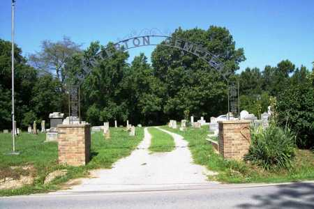 *CENTERTON CEMETERY ENTRANCE,  - Benton County, Arkansas |  *CENTERTON CEMETERY ENTRANCE - Arkansas Gravestone Photos