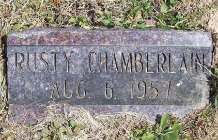 CHAMBERLAIN, RUSTY - Benton County, Arkansas   RUSTY CHAMBERLAIN - Arkansas Gravestone Photos