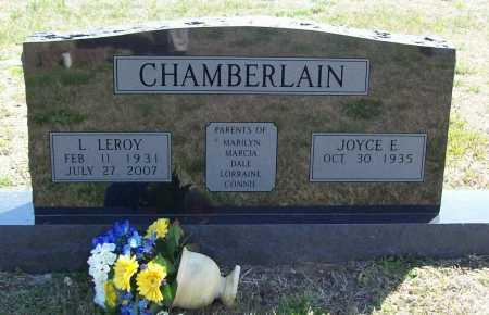 CHAMBERLAIN, LOREN 'LEROY' - Benton County, Arkansas   LOREN 'LEROY' CHAMBERLAIN - Arkansas Gravestone Photos