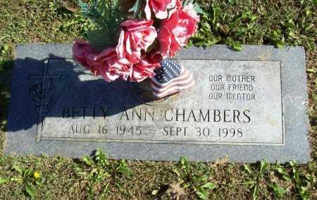 CHAMBERS, BETTY ANN - Benton County, Arkansas | BETTY ANN CHAMBERS - Arkansas Gravestone Photos
