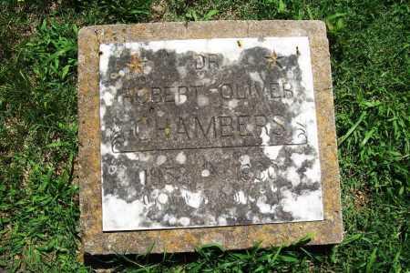 CHAMBERS, DR. ROBERT OLIVER - Benton County, Arkansas | DR. ROBERT OLIVER CHAMBERS - Arkansas Gravestone Photos