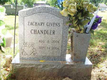 CHANDLER, ZACHARY GIVENS - Benton County, Arkansas   ZACHARY GIVENS CHANDLER - Arkansas Gravestone Photos