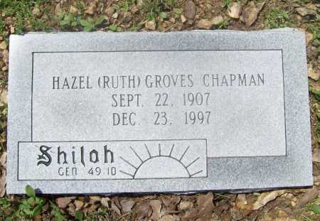 CHAPMAN, HAZEL RUTH - Benton County, Arkansas | HAZEL RUTH CHAPMAN - Arkansas Gravestone Photos