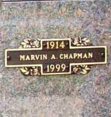 CHAPMAN, MARVIN A. - Benton County, Arkansas | MARVIN A. CHAPMAN - Arkansas Gravestone Photos
