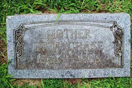 CHASE, ETTA - Benton County, Arkansas   ETTA CHASE - Arkansas Gravestone Photos